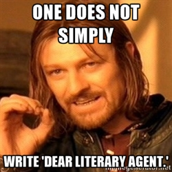 Image result for literary agent meme